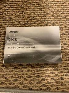 2018 Chevy Malibu Owners Manual    User Guide