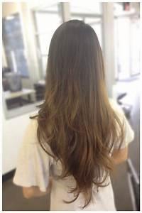 V Shaped Haircut For Long Hair Layered Cut Haircuts Back ...