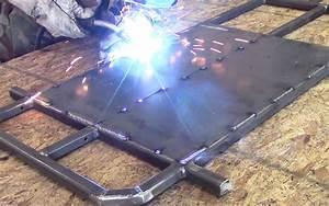 welding a go kart floor pan kartfabcom With welding floor pans