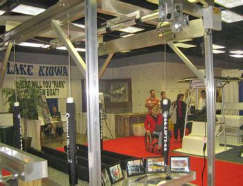 Dallas Boat Show by Cypress Lifts At The Dallas Boat Show