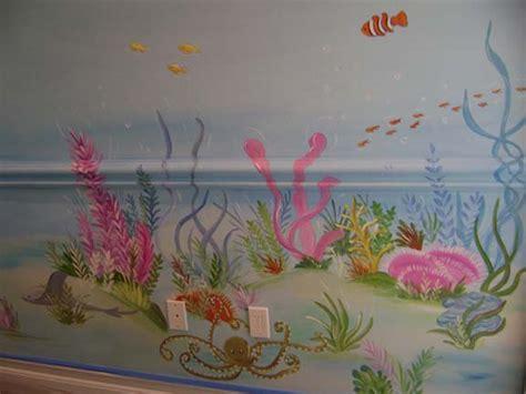 coral reef mural childrens muralmuralkids mural