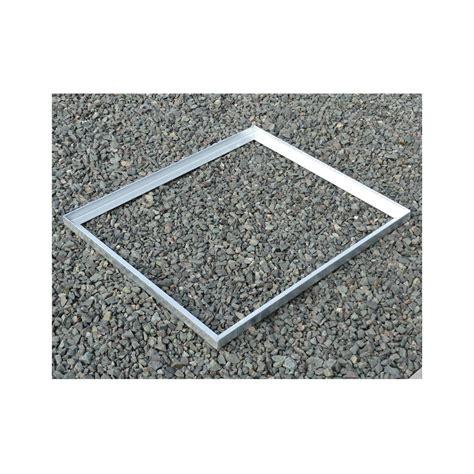 cadre acier galva pour caillebotis en corni 232 re de 45
