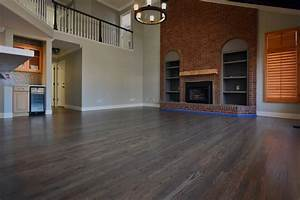 Custom gray in highlands ranch co the flooring artists for Hardwood floor refinishing highlands ranch co