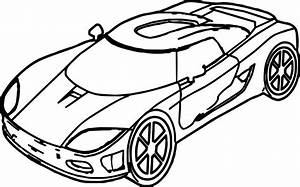 toy car coloring pages - sport toy car coloring page