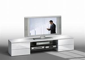Meuble Tv Hifi : meuble tv hifi design meuble tv hifi design maisonjoffrois ~ Teatrodelosmanantiales.com Idées de Décoration