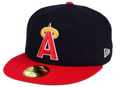 los angeles angels  era mlb cooperstown fifty cap
