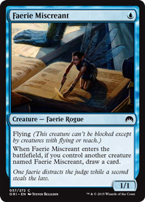 Faerie Rogue Deck Mtg by Magic Origins Magic The Gathering