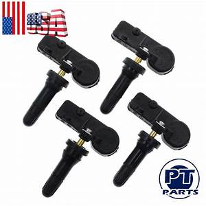 4 Tpms Tire Pressure Sensors For Dodge Challenger Charger