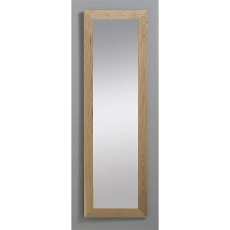 magasin chambre adulte miroir nakato inspire chêne l 30 x h 120 cm leroy merlin