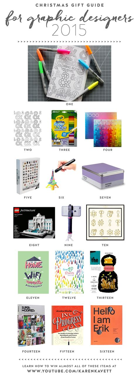 gifts for graphic designers gift guide for graphic designers 2015 kavett