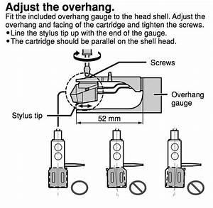 Technics Overhang Gauge Sfk0135