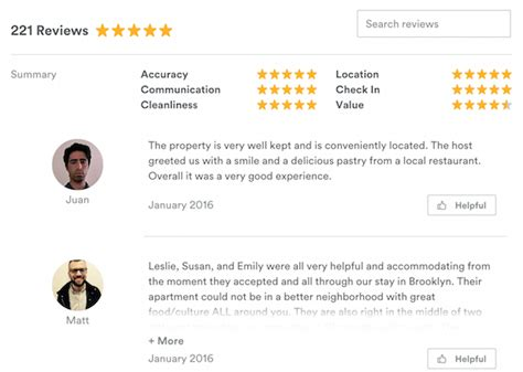 airbnb host review the dotlaunch 10 great ux features from the airbnb website