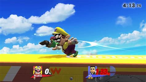 Super Smash Bros Wii U Friend Match 16 Wario 1080 Hd