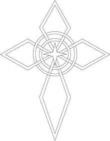 Celtic Cross Drawings Easy
