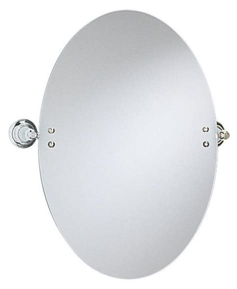 clifton oval swivel mirror 600x550mm leigh plumbing
