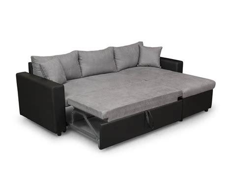 canapé d angle réversible et convertible canapé d 39 angle réversible et convertible avec coffre gris