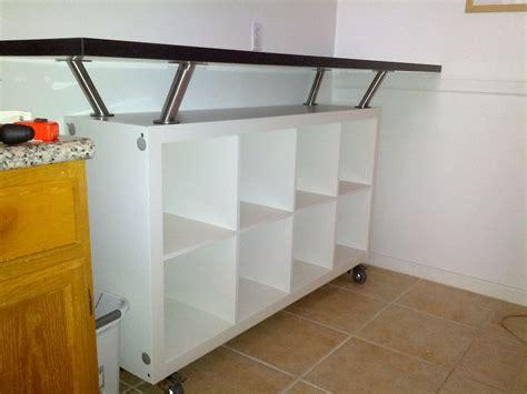 Kitchen Breakfast Bar Storage by Breakfast Bar With Lot Of Storage Space Hack Attack