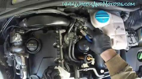 replace fuel filter  skoda superb  vw passat