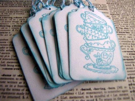 Tea Cup Gift Tags