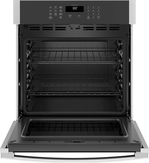 ge jkssnss   single wall oven stainless steel
