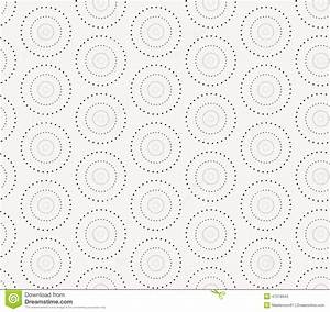 seamless pattern with dotted circles vector repeating With repeating timer no2