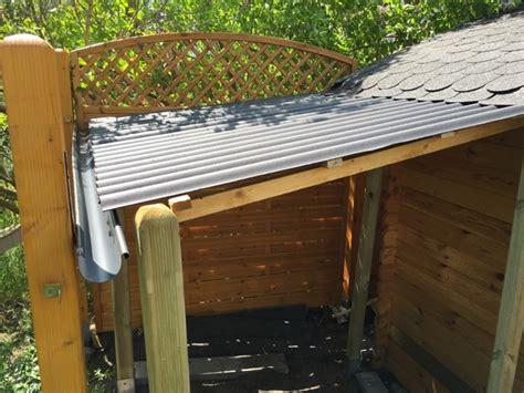 gartenhaus günstig bauen schleppdach am gartenhaus selber bauen g 252 nstiger