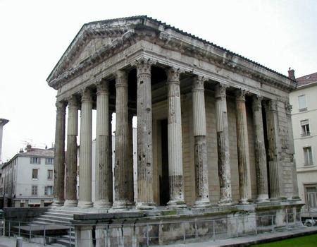 si鑒e de vienne galerie d 39 images temple d 39 auguste et de livie vienne 40 structurae