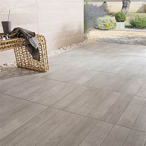 Carrelage Extérieur Terrasse : carrelage sol gris effet bois jungle x cm ~ Voncanada.com Idées de Décoration