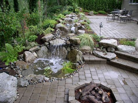 waterfall designs waterfalls landscaping and google search on pinterest