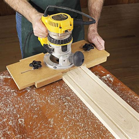 money fluting jig woodworking plan  wood magazine