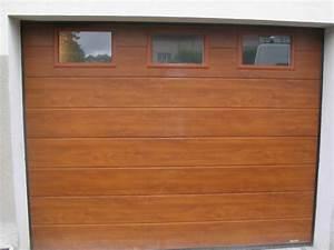 porte de garage alu porte sectionnelle porte battante With porte de garage enroulable et porte en bois blanc