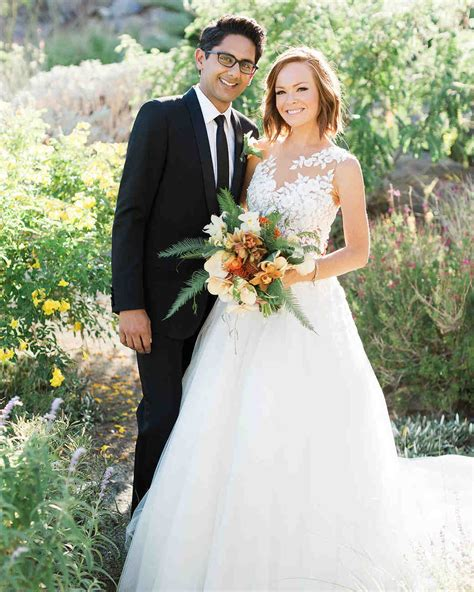 A Quintessentially Palm Springs Wedding   Martha Stewart Weddings