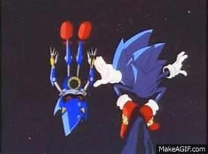 Sonic OVA: Sonic meets Hyper Metal Sonic on Make a GIF