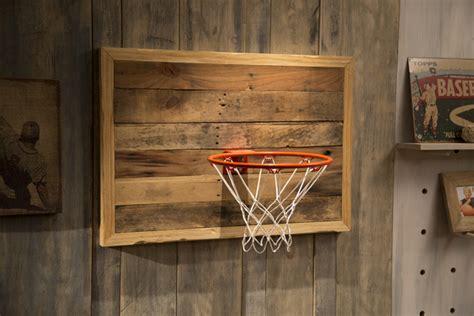 ana white reclaimed pallet wood basketball hoop diy
