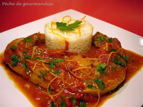 cuisiner le tendron de veau tendrons de veau à l 39 orange péché de gourmandise