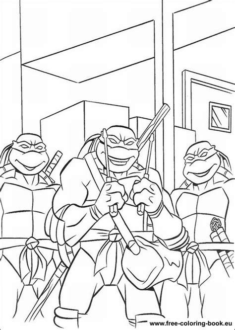 Ninja Turtles #48 (Superhéroes) Páginas para colorear