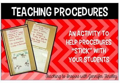 Procedures Teaching Classroom Inspire