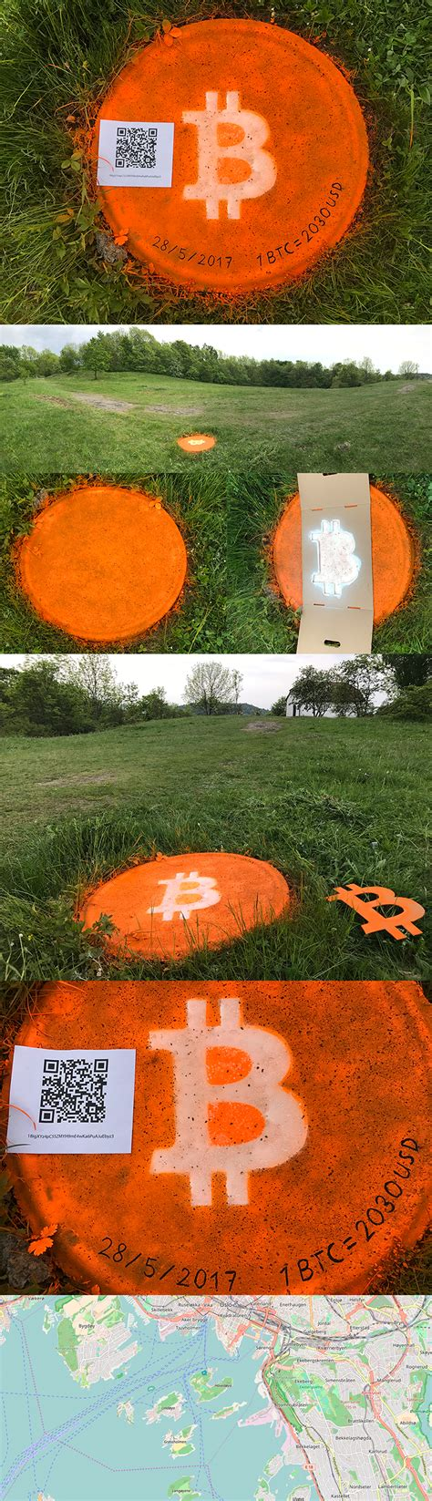 Bitcoins are all the buzz. Bitcoin found on an island in the Oslo fjord : btc