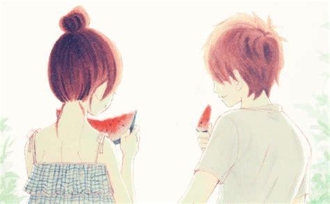 Anime Kiss Gif Cute Lovely Complex Gifs Wifflegif