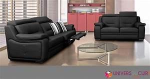 photos canape 2 places relaxation electrique cuir With canapé cuir relax electrique 2 places cuir center