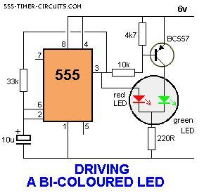 Driving Colour Led Circuit