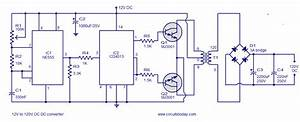12v To 120v Dc Dc Converter Circuit Diagram World