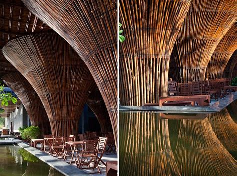 bamboo kontum indochine cafe by vo trong nghia architects