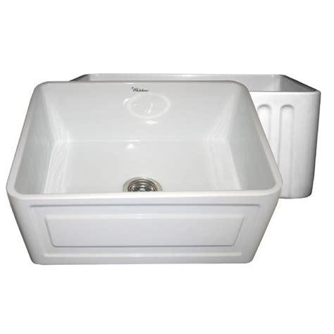 raised kitchen sink whitehaus reversible series fireclay sink with raised 1715