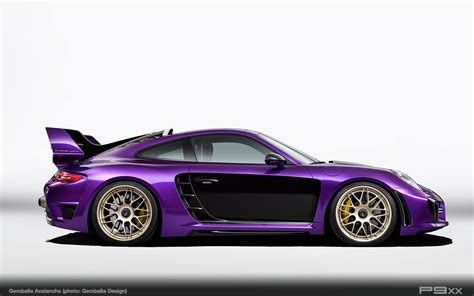 Gemballa Avalanche A Highly Individualized Porsche 911 P9xx