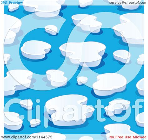 clipart iceberg of a seamless iceberg background pattern royalty
