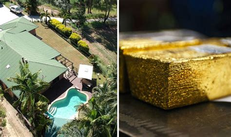Man's Shock As He Finds Gold Mine In His Garden