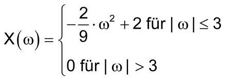systemtheorie  inverse fourier transformation mit