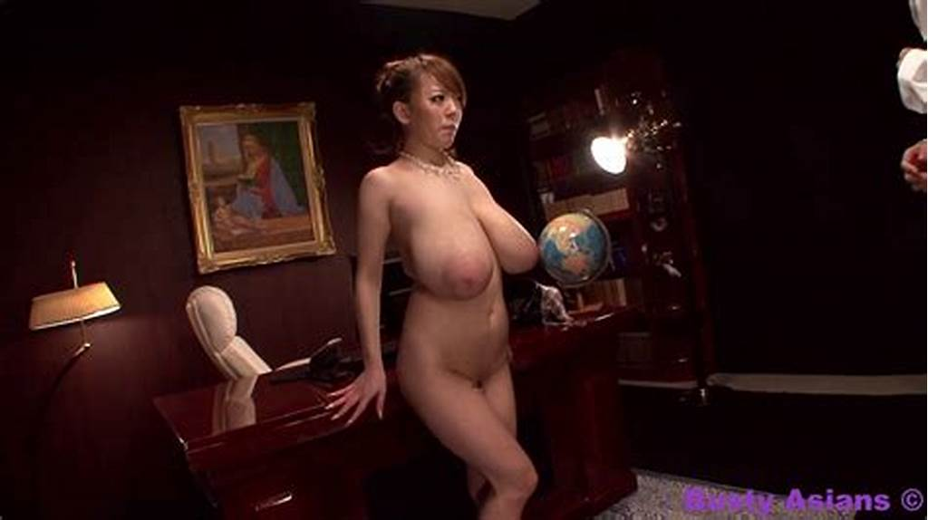 #Monster #Tits #Porn #Star #Hitomi #Tanaka #Fucked #By #The #Boss #At