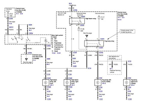 Fog Light Wiring Diagram by Wiring Diagram For Fog Lights Ford Truck Enthusiasts Forums